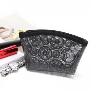 Custom Print pattern PVC Cosmetic Bag Make Up Bag Custom Color OEM factory
