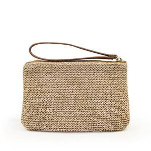 Clutch Straw Bags Women Tote Square Bag Straw Beach Bag