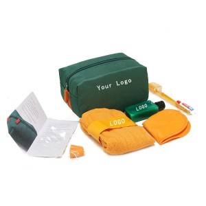 Airline-Reiseset Toilettartikeln Inflight Amenity Kit Airline Amenity Kit