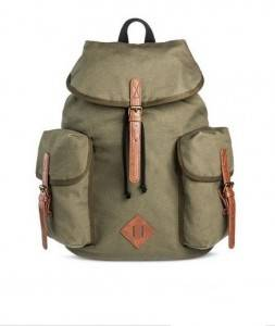 New Customized High Quality Canvas School Backpack canvas army backpack plain drawstring for sale