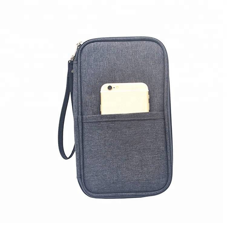 Ready stock portable travel bag passport for card holder wallet leather