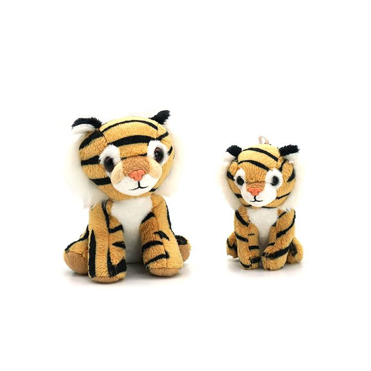 Wholesale custom cute animal tiger plush toy