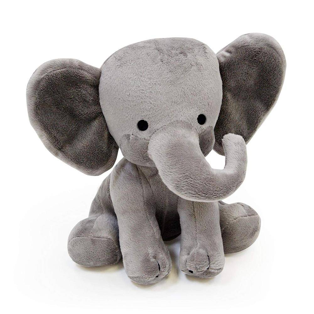 cheap low price pink grey blue color stuffed elephant plush toys soft toy for kids