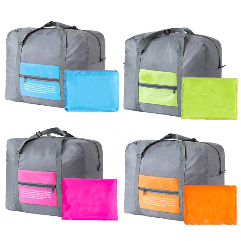 Foldable Portable Waterproof Big Home Storage Bag Shopping Sport Travel Duffel Luggage Organizer Bag Featured Image