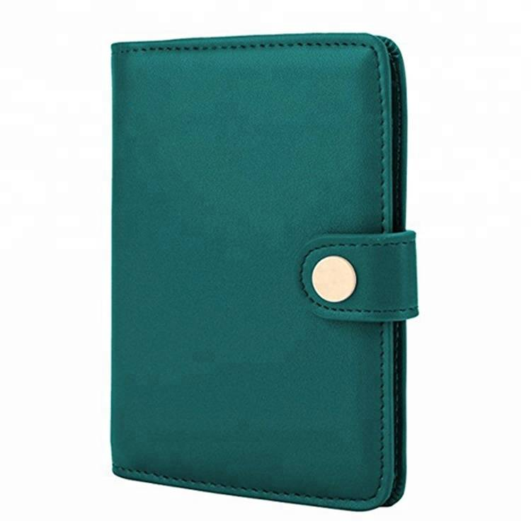 Hot selling adjustable waterproof business leather wallet card holder