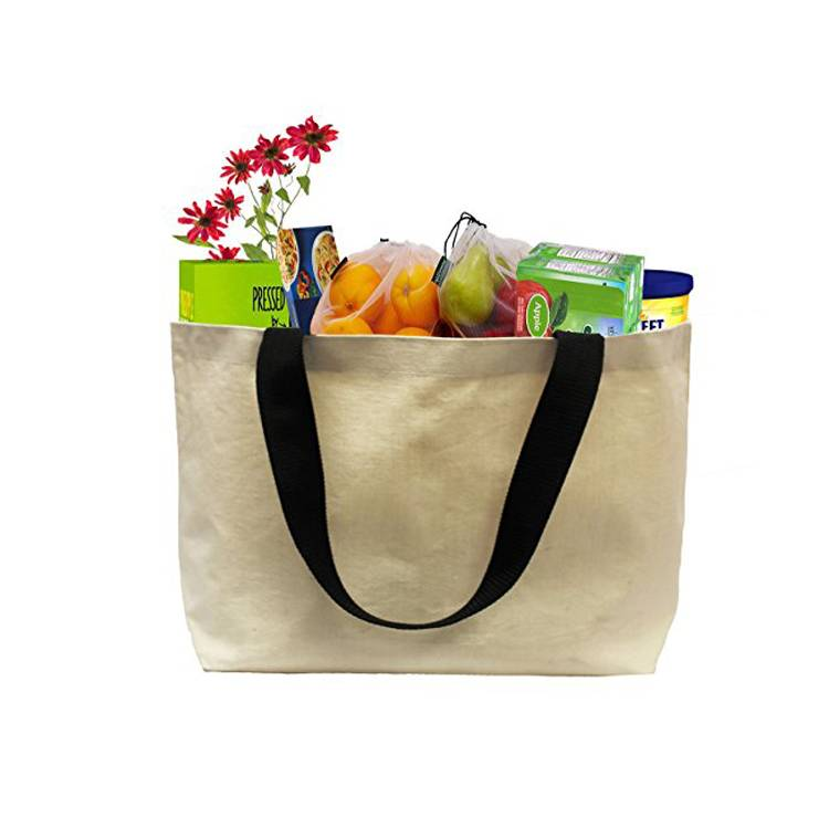 Free Sample Reusable Shopping Bags Tote Rpet Foldable Shopping Bag Durable Portable Collapsible For Supermarket