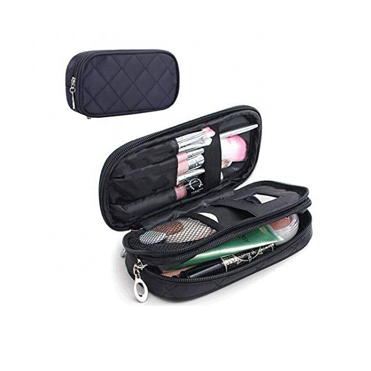 V-FOX European Professional Makeup Accessories Small Mini Toiletry Organizer Bag Travel Kit Pouches Cosmetic Bag