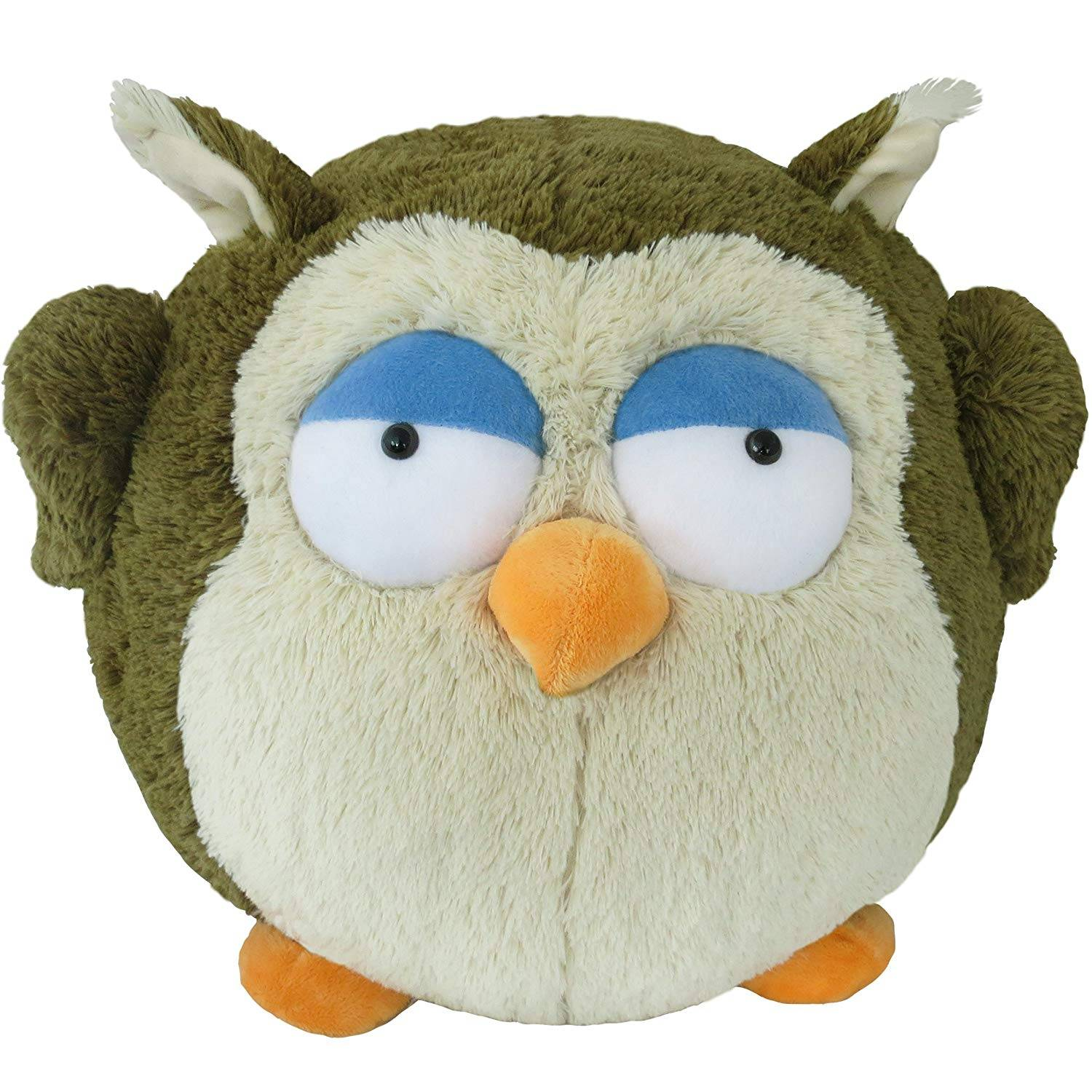 wholesale EN 71 cheap velboa animal toy plush stuffed owl
