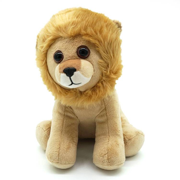 Bespoke funny lion plush soft toys