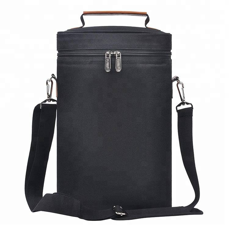 Fashionable outdoor portable eco lunch bag with food delivery cooler bag