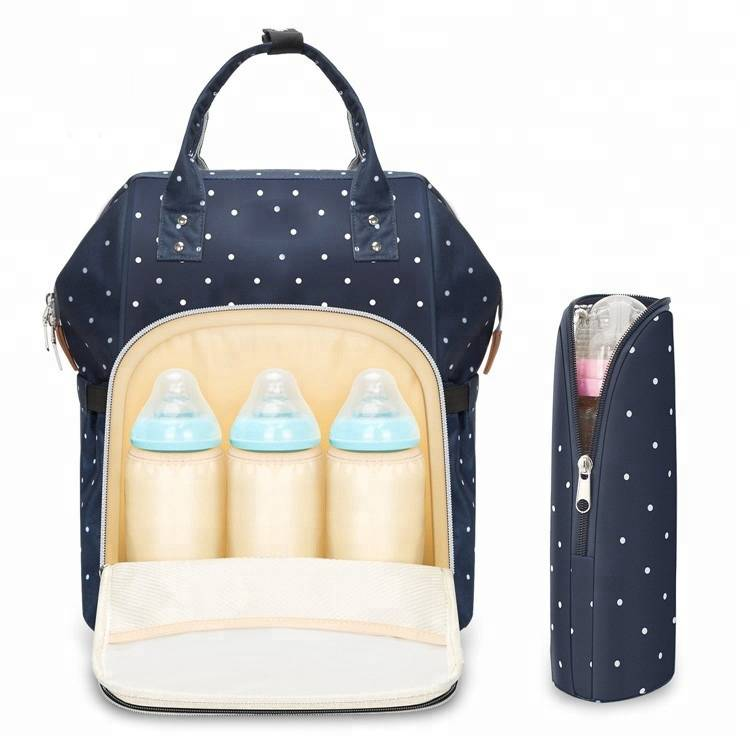 Latest Multi-functional Waterproof Large Swim Holiday Travel Baby Cloth Diaper Bag Backpack with 14 Pocket