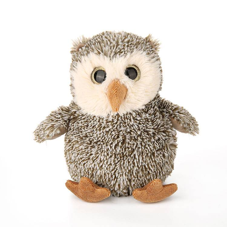 Winter soft animal owl stuffed plush toy