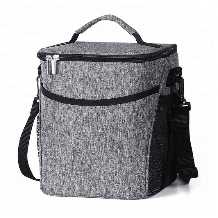 Eco-friendly Upper Order Durable 25% Larger Greater Storage  Insulated Lunch Bog Tote Reusable lunch Cooler Bag
