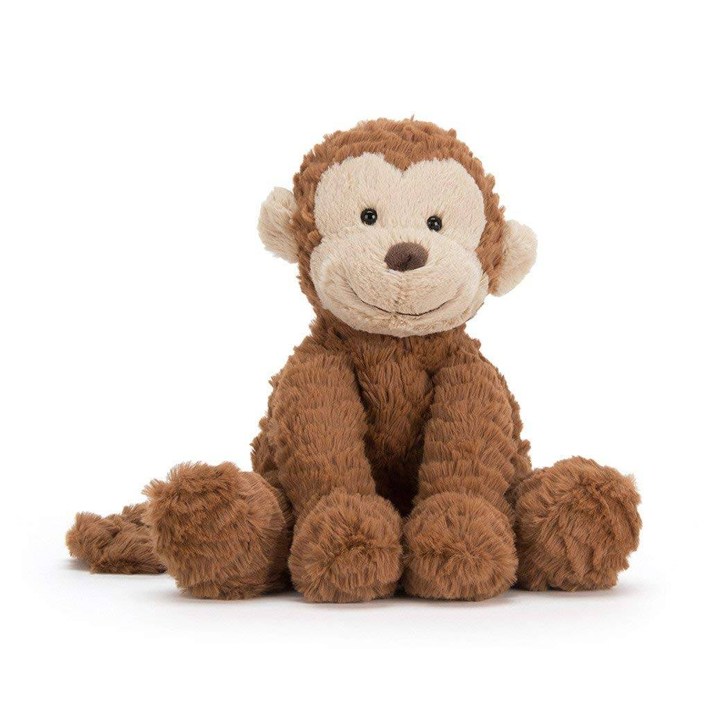 supply brown color cute animal toy stuffed monkey toy for kids