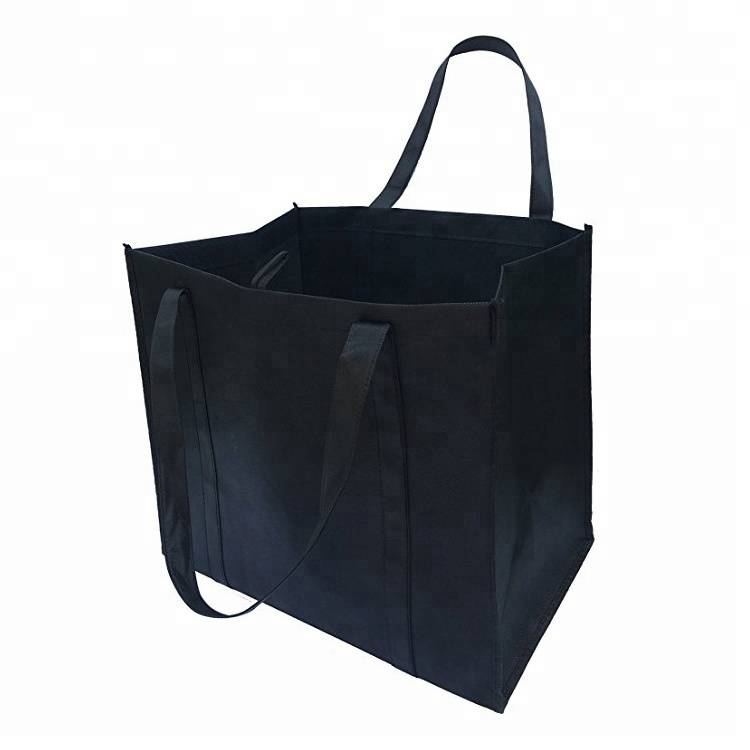 Best Quality Eco Friendly  Recycled Reusable Grocery Tote Rpet Bags With Custom Print Logo