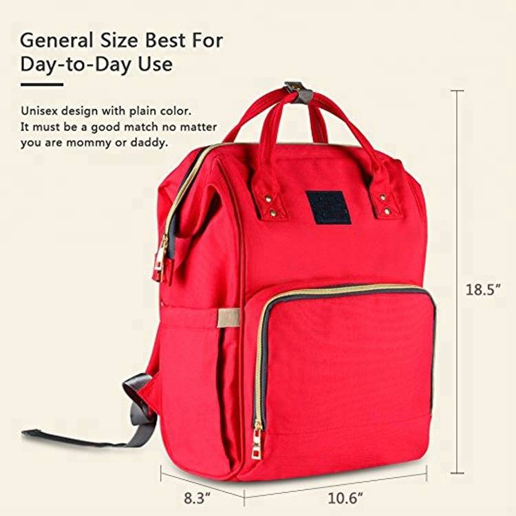 Multifunctional Nappy Large Capacity Baby Mummy Diaper Bag For Outdoor Travel Bag