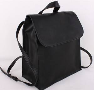 New Korea style water resistant lovers PU leather fashion Laptop Ladies College Bags School Rucksack Bag