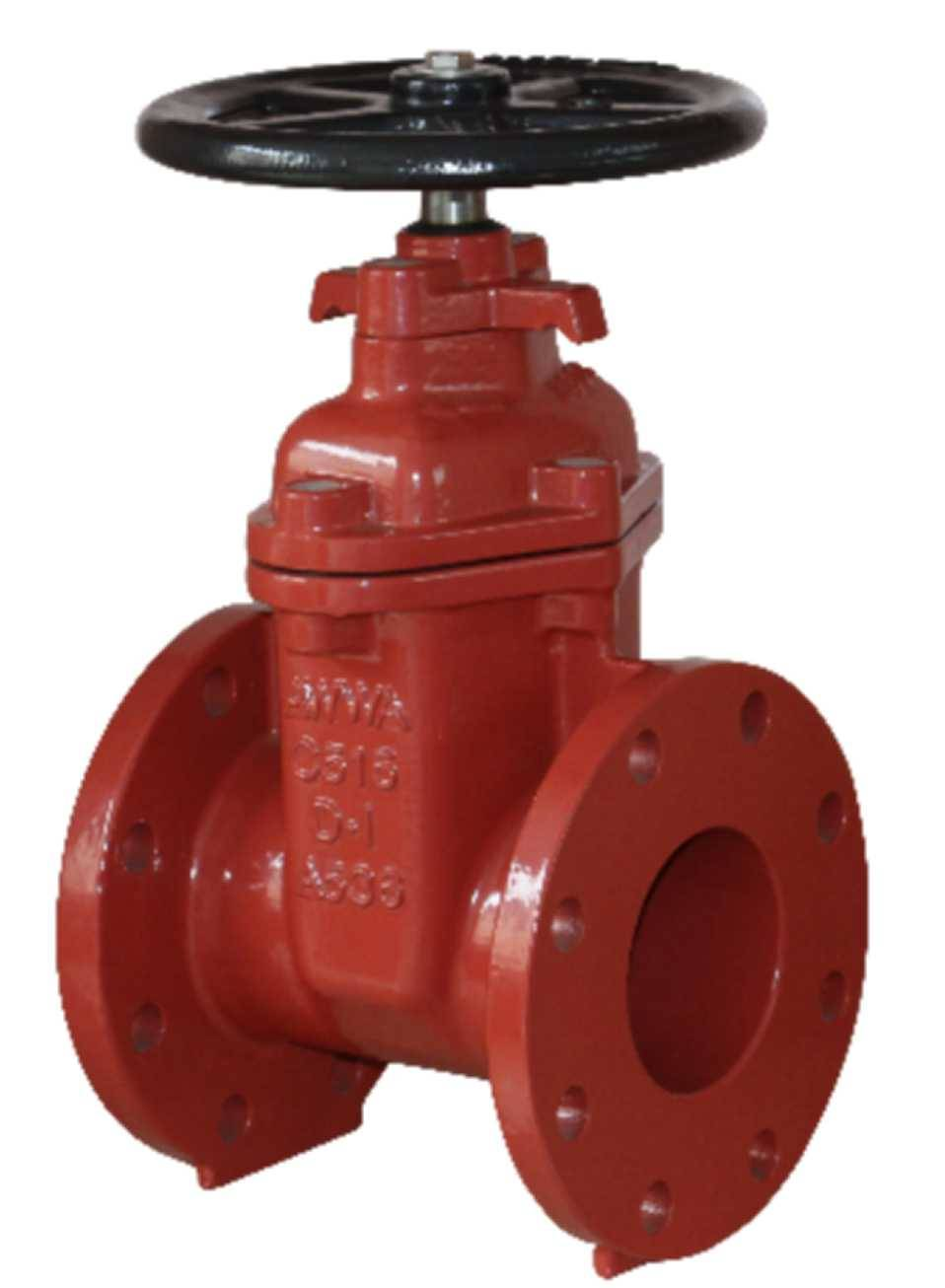 Flanged End NRS Resilient Seated Gate Valves-AWWA C515 UL FM Featured Image