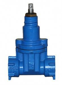 Screw End NRS Resilient Seated Gate Valves-DIN3352