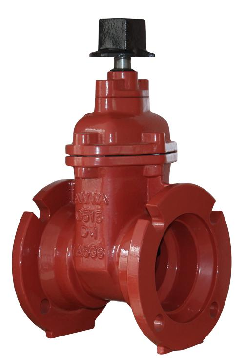 MJ+MJ/FL+MJ End NRS Resilient Seated Gate Valves-AWWA C515 UL FM Featured Image