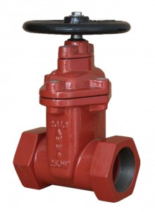 Screw End NRS Resilient Seated Gate Valves-AWWA C515