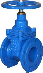 Flanged End NRS Elastik Ulur Gate Valves-DIN3352 F4
