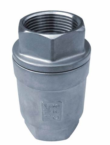 2 PC Spring Vertical Check Valves,Threaded End,100WOG