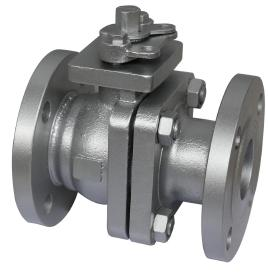 BS Cast Iron Ball Valves with ISO5211 Mounting Pad