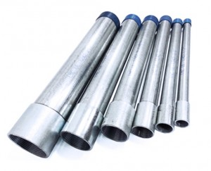 BS4568 Steel Galvanized Electrical GI Conduit