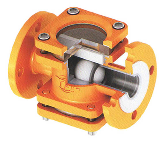 Ball Type Check Valve with Sight-glass Featured Image