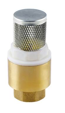 Brass/Bronze Foot Valves with ss screen