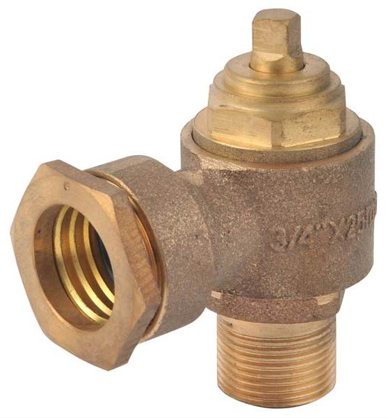 Gunmetal/Bronze Swivel Ferrule Valves for PE Pipes