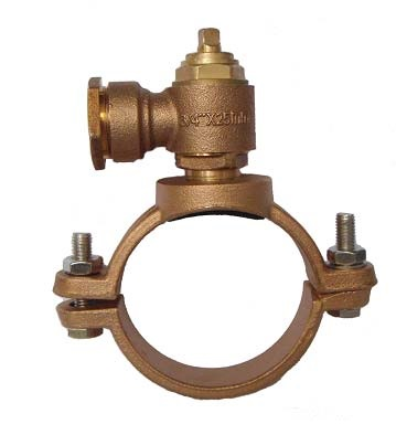 Bronze Saddle Clamp with Ferrules
