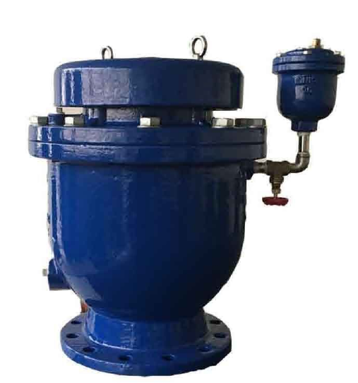 Combination Air Valve, Orifice Double Image Ifakwe