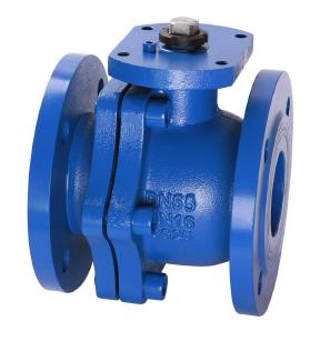 DIN Cast Iron Ball Valves with ISO5211 Mounting Pad