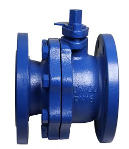 DIN Cast Iron Ball Valves