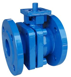 DIN Ductile Iron Ball Valves with ISO5211 Mounting Pad