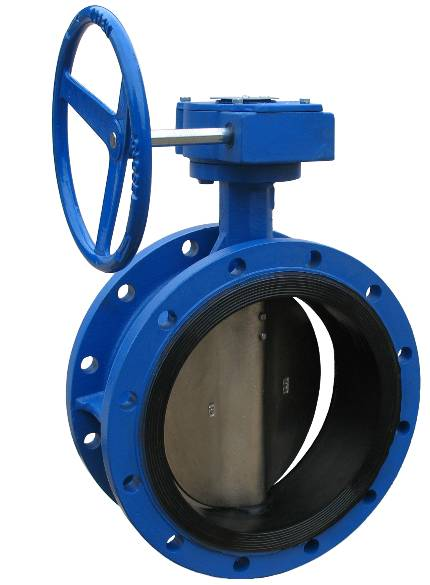 Double Flanged Butterfly Valves-Short Body-Rubber Lined