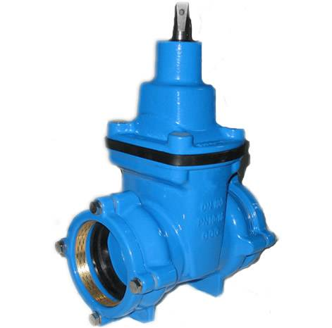 Double Socket Resilient Seated Gate Valve for HDPE Pipe Featured Image