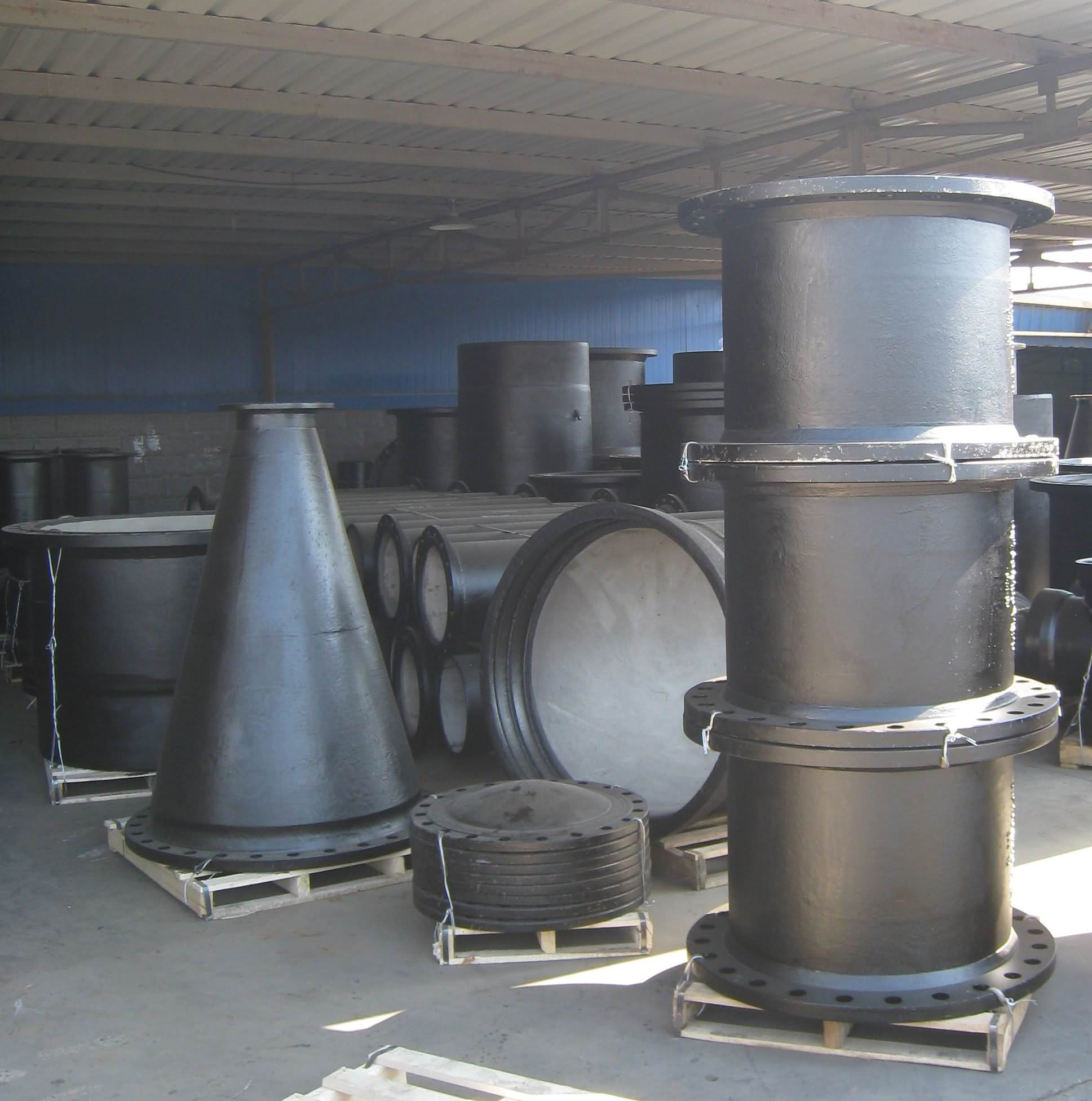 Ductile Iron Pipe Fittings, ISO2531 EN545 -8 Featured Image