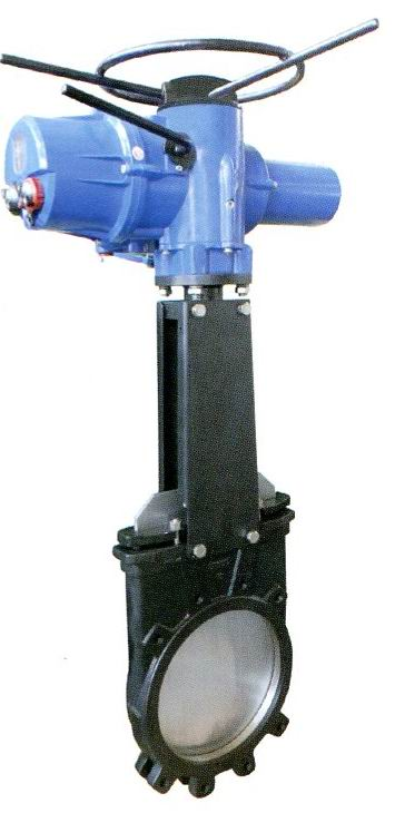Electric Actuator Knife Gate Valves