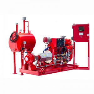 End Suction Fire Pump Group