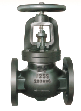 Flanged End Globe Valves-MSS SP-85 125LBS