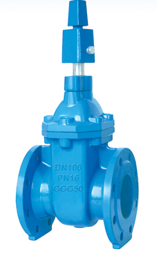 Flanged End Non-Rising Stem Gate Valves-BS5163 Type B