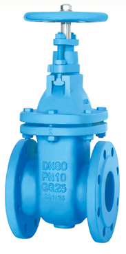 Flanged End Non-Rising Stem Gate Valves-DIN3352 F4 PN10,2DZ45T-10