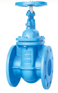 Flanged End Non-Rising Stem Gate Valves-DIN3352 F4 PN10,Packing Type