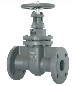 Flanged End Non-Rising Stem Gate Valves-DIN3352 F5 PN16