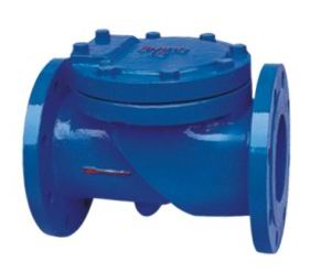 Flanged End Swing Vedi valves-45Degree resilient che-BS5153