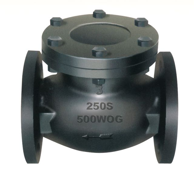 Flanged End Swing Check Valves-MSS SP-71 250LB