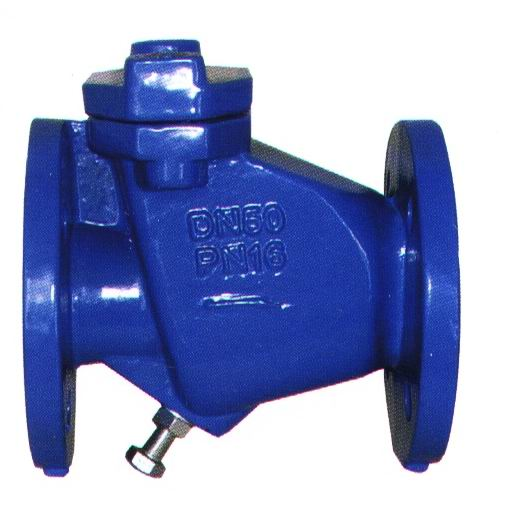 Flanged End Swing Vedi valves-resilient che